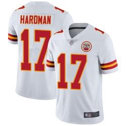 Kansas City Chiefs #17 Mecole Hardman Draft Game Jersey - White